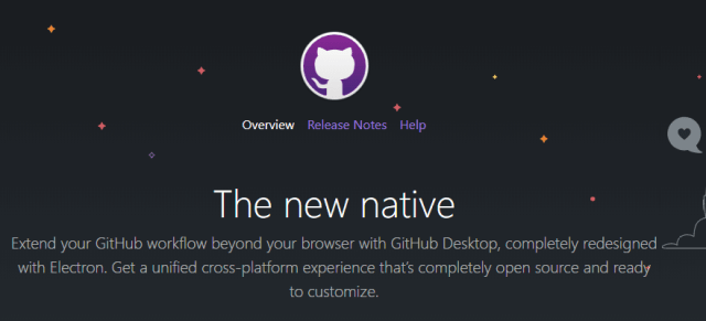 GitHub features desktop