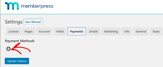 MemberPress Payment