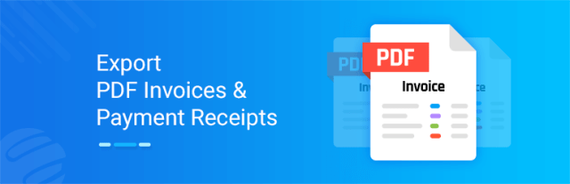 PDF invoice for WP ERP