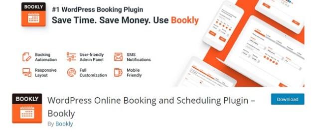 Schedule plugin by Bookly