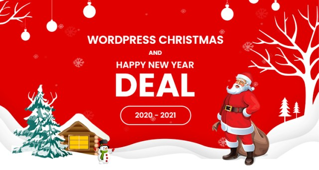 Christmas And New Year WordPress Deals