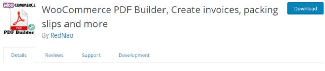 woocommerce pdf builder