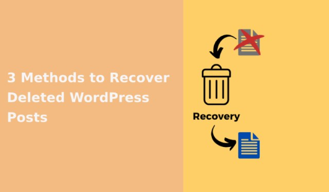 Recover Deleted WordPress Posts