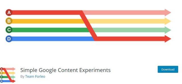 Simple Google content plugin