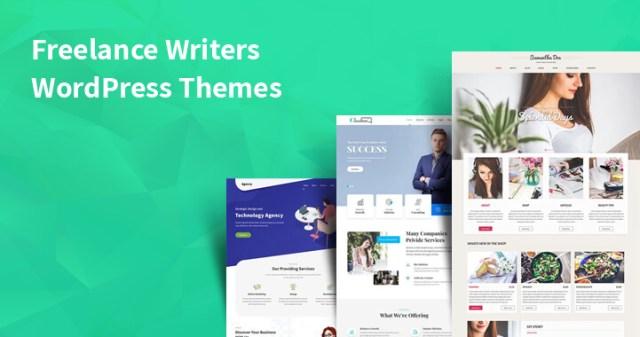 WordPress themes for freelance writers