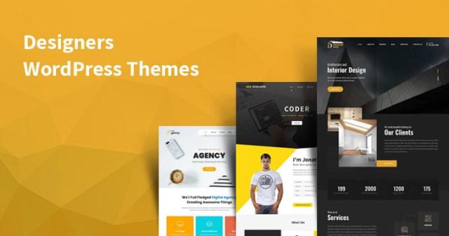 best WordPress themes for designers