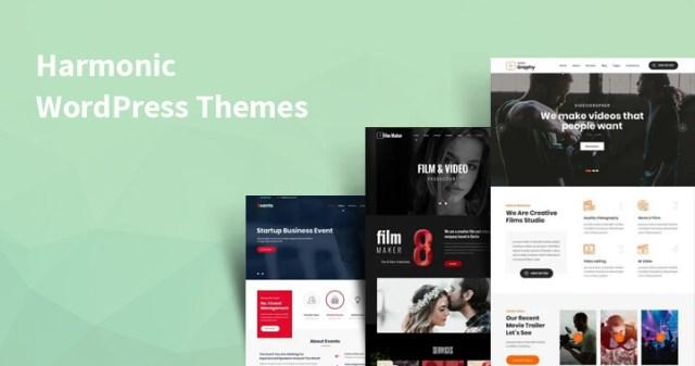 harmonic WordPress themes
