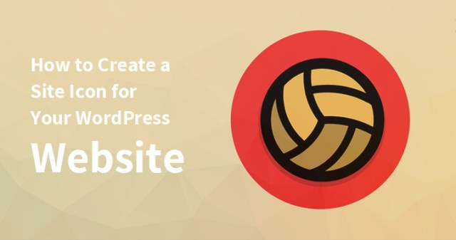 Create a Site Icon for Your WordPress