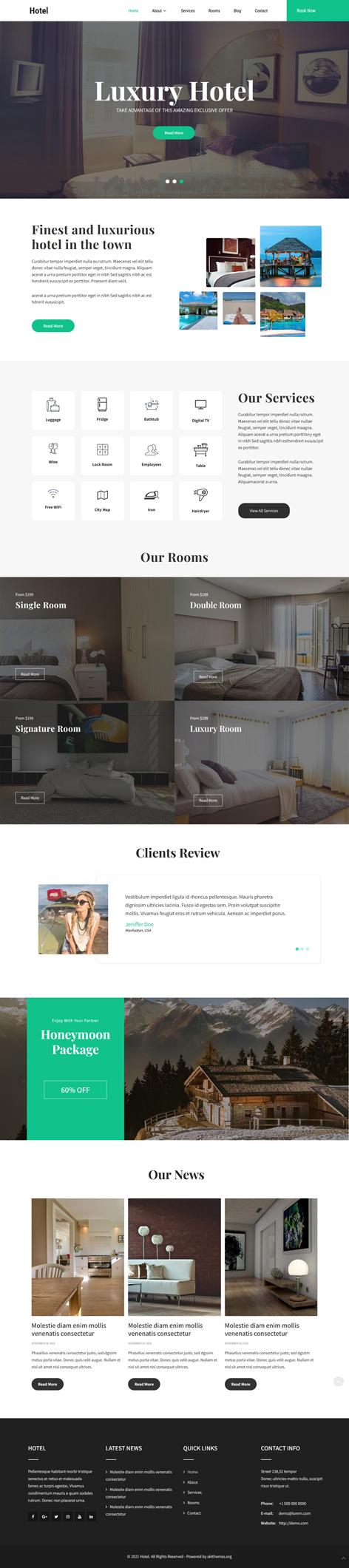 restinn WordPress theme