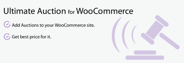 Ultimate Auction for WooCommerce