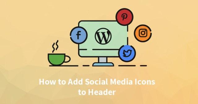 Add Social Media Icons to WordPress