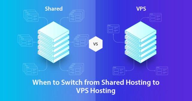 Shared Hosting to VPS Hosting