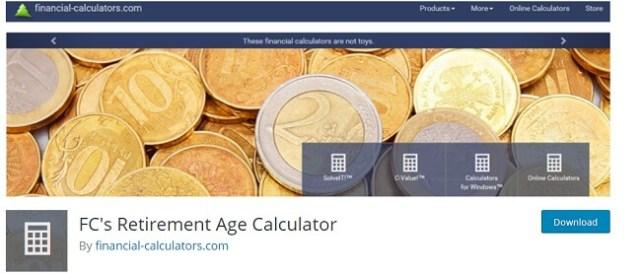 FC's Retirement Age Calculator