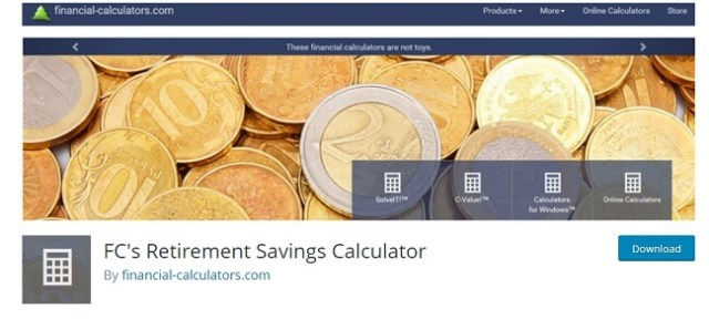 FC's Retirement Savings Calculator