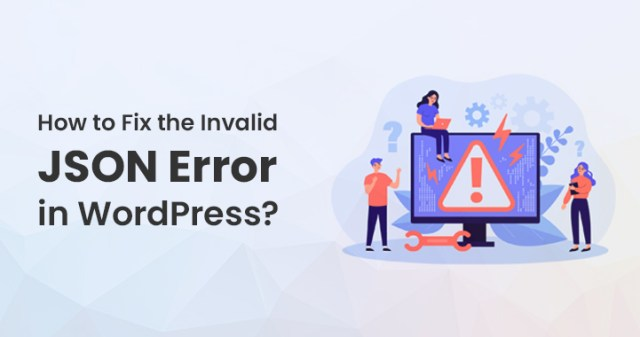 Invalid JSON Error in WordPress