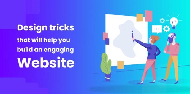 design tricks for engaging website