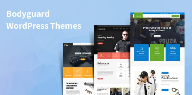Bodyguard WordPress Themes