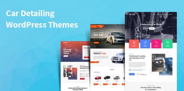 car detailing WordPress Themes