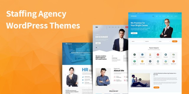 staffing agency WordPress themes