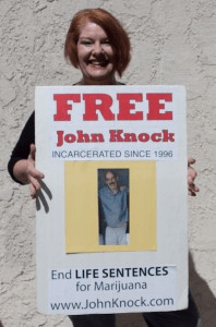 First-time offender John Knock is serving 2 LIfe Sentences for Marijuana plus 20 years