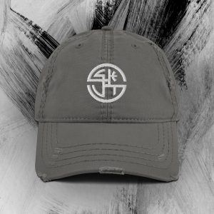 Distressed SKUT Cap (White Emblem) (Various Colors)