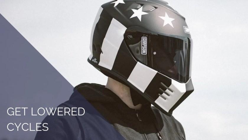 get lowered cycles man wearing helmet case study