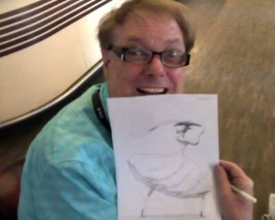 Exclusive – Bill Plympton Sketches Ella from Cheatin'