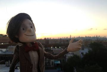 The 11th Doctor in puppet form