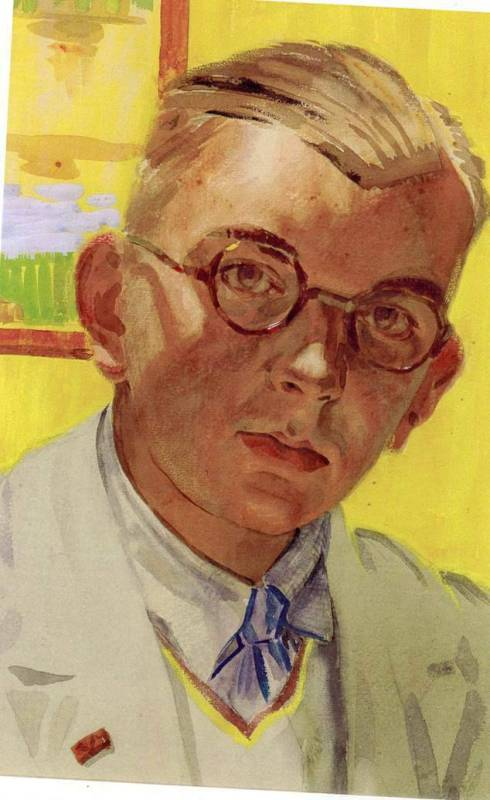 Harold Whitaker Self portrait (c1937)