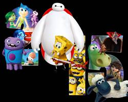 Animated features of 2015