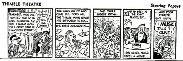 Ninety Five Years Of Ms. Olive Oyl!