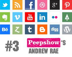 How To Boost Your Online Presence #3: Illustrator, Andrew Rae