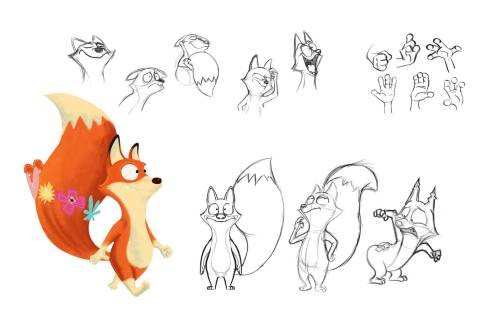 Final design of Mr. Fox