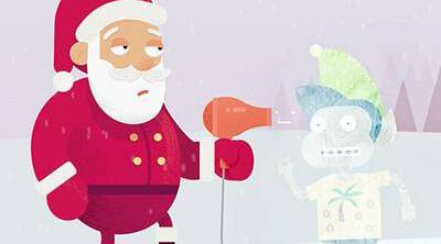 Met Office Christmasd Campaign Cartoons