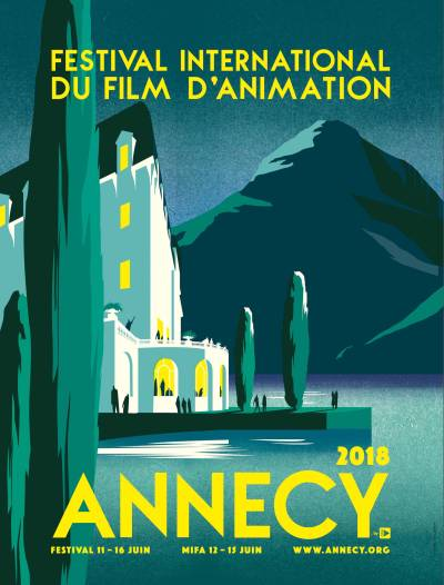 Anneny Animation Festival 2018 Poster Pascal Blanchet