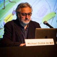 Michaël Dudok de Wit leading a 5 hour workshop