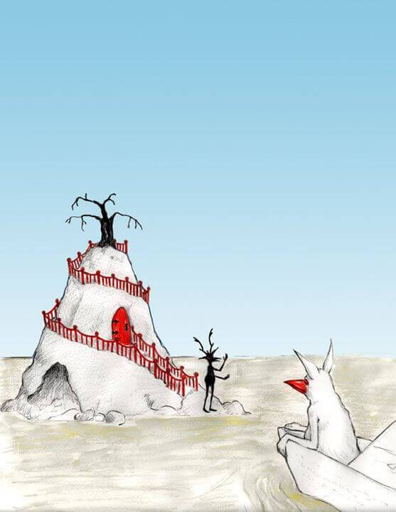 Production Artwork for Seed in the Sand