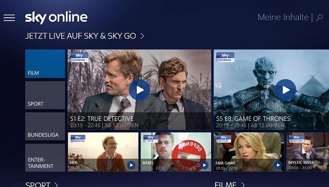 Sky Go Windows 10 Microsoft Sky Online
