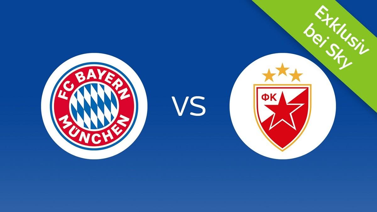 Sky Ticket: FC Bayern München vs Roter Stern Belgrad live ...