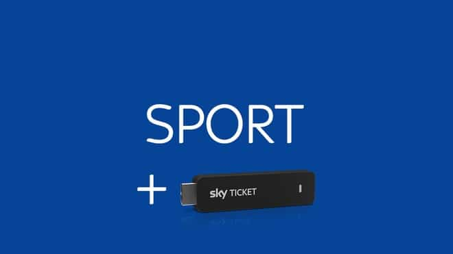 Sky Sport Ticket + TV-Stick