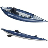Aquaglide BlackFoot HB Angler SL Inflatable Fishing Kayak