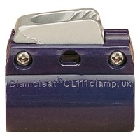 Clamcleat CL244 Aluminium Boom Cleat and Clamps