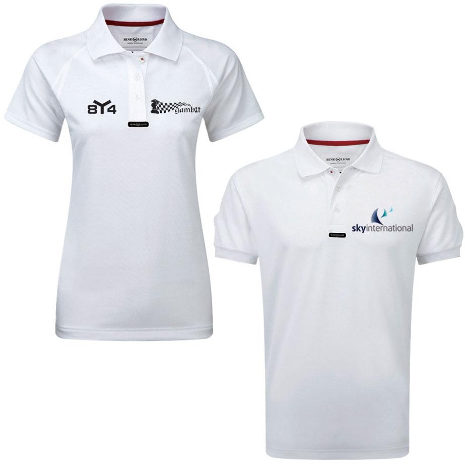Custom Print Henri Lloyd Crew Shirts Quality Stylish Teamwear