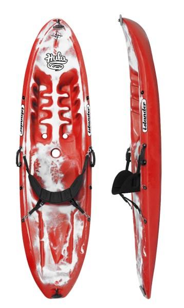 Islander Hula Kayak - Red/White