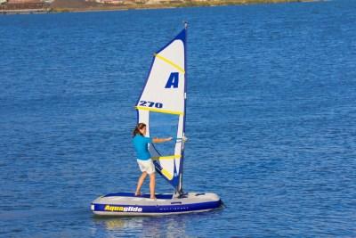 Aquaglide Multisport 270 - Windsurfer Setup