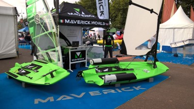 Maverick Dinghy, SUP, Windsurfer All-In-One