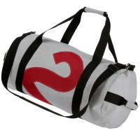 Bainbridge Sailcloth Barrel Bag - 24L Grey