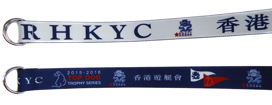 Club Branded and Regatta Belts - Royal Hong Kong Club - Sublimation Belt by Sky International