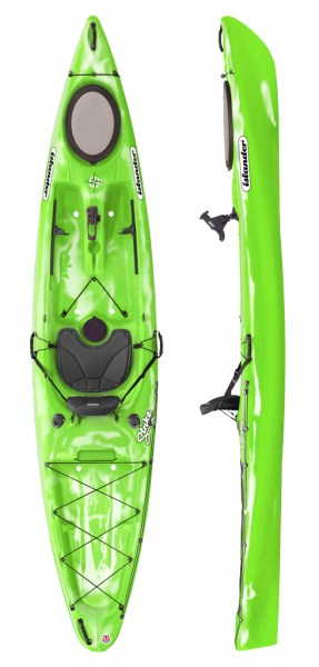Islander Strike Kayak - Lime