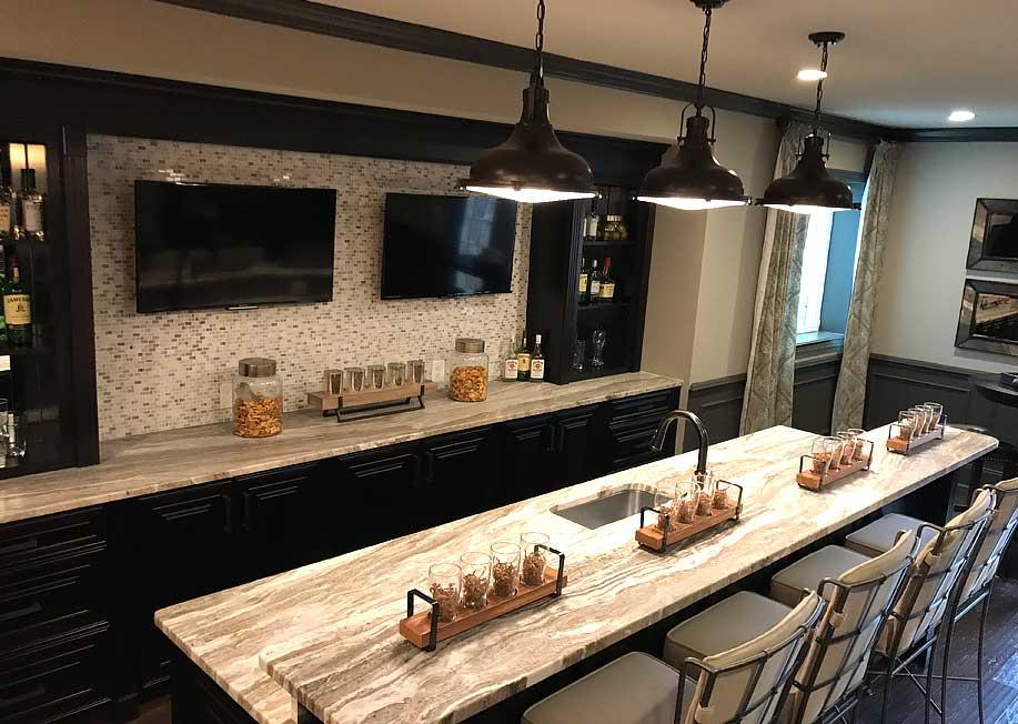 fantasy brown soft quartzite kitchen